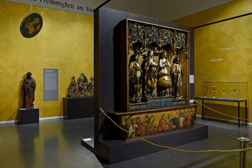 Stettener Altar und weitere Objekte aus dem Landesmuseum Württemberg in der Reformation-Ausstellung ©Hauptstaatsarchiv Stuttgart, CC BY-SA