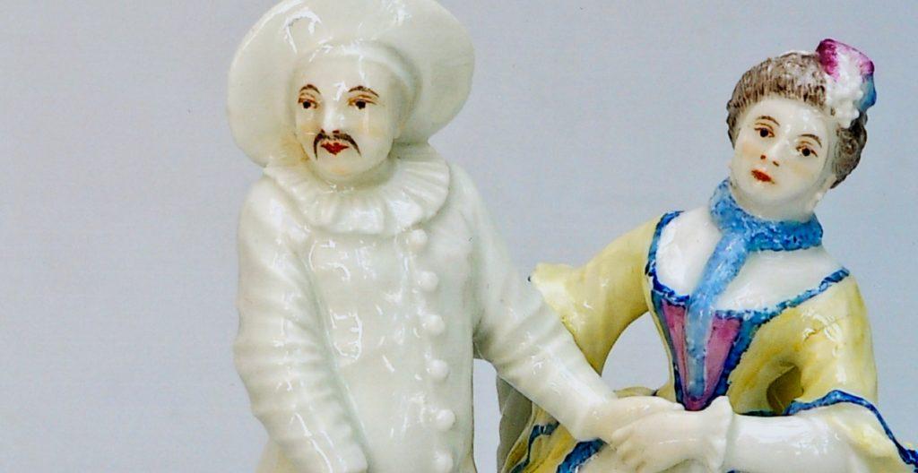 """Comedia dell' arte """"Pierrot und Violetta"""""""