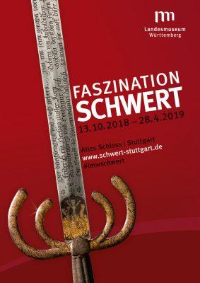 Plakat Schwert-Ausstellung