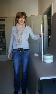 Kathleen Schiller, Mitarbeiterin für das Sammlungsbewertungsprojekt