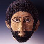Mumienmaske eines Mannes