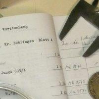 Handwerkszeug von Numismatikern