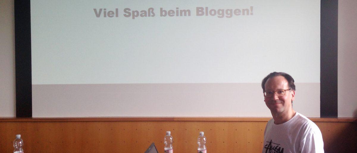 Schreibworkshop mit Martin Elbert von Kessel.TV