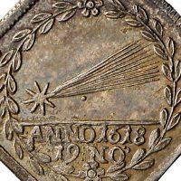 Komet auf Medaille © Landesmuseum Württemberg