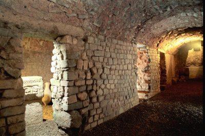 Das Horreum, unterirdische Galerien, die in der Antike als öffentliche Kühllager dienten. © Mairie de Narbonne CC BY-SA