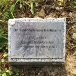 Das Grab des mysteriösen Dr. H auf dem Oberhofenfriedhof