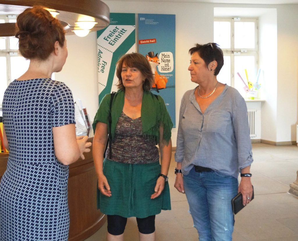 Frau Sprengel mit Andrea Goletz @ Maike Lange, Landesmuseum Württemberg
