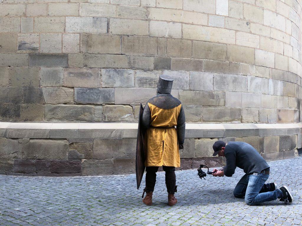 Ein Ritter zu Besuch