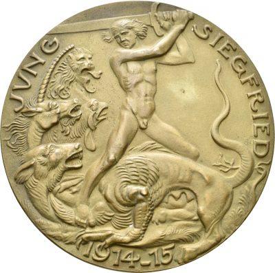 Medaille; Inv. MK 3545, Medailleur Karl Goetz (gest. 1950)