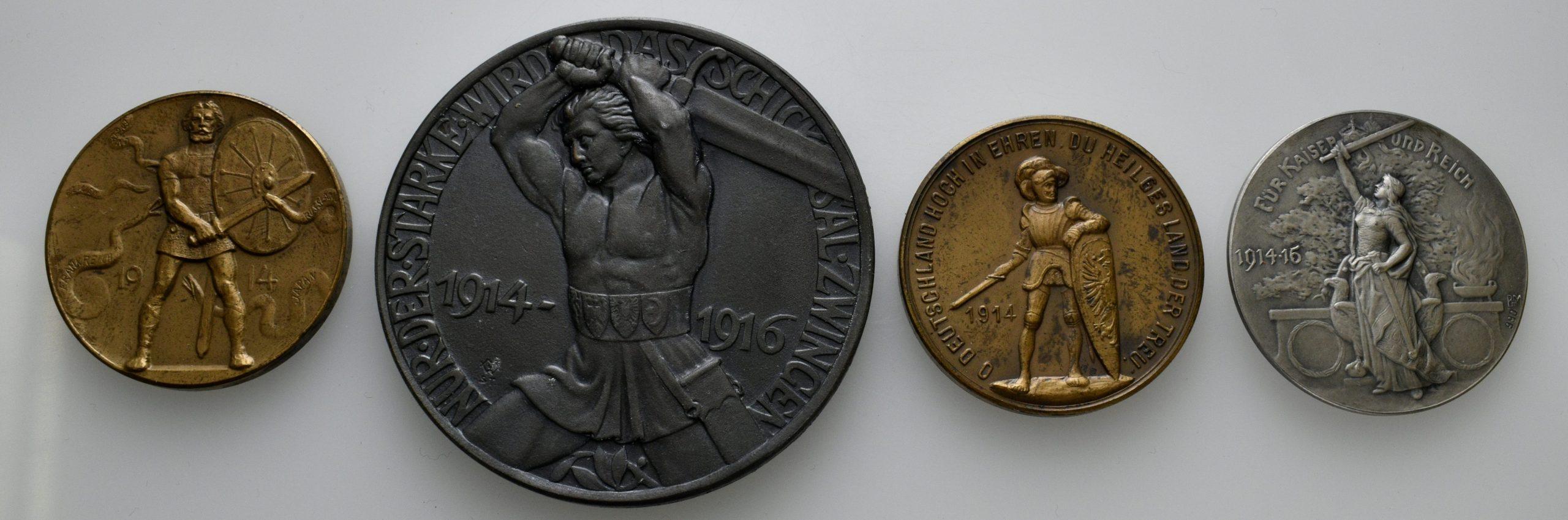 Medaillen des Ersten Weltkriegs aus dem Münzkabinett © Matthias Ohm