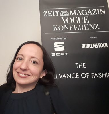 "Selfie auf der Konferenz ""The Relevance of Fashion"""