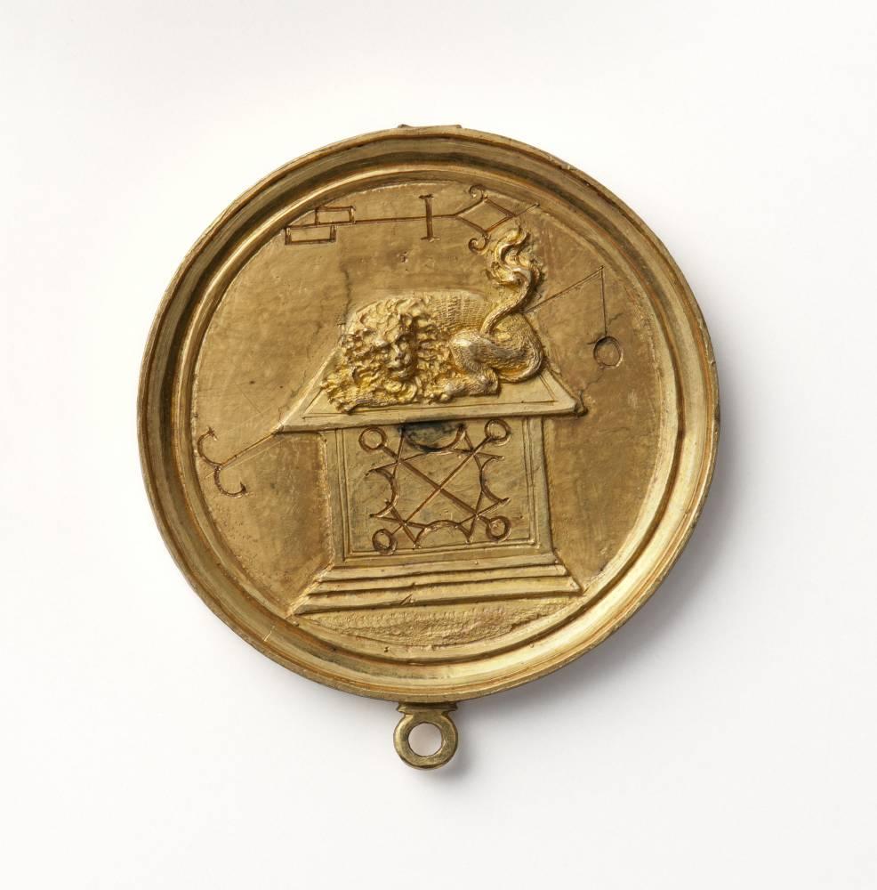 """Aus der Kunstkammer: eine Medaille aus """"alchemistischem Gold"""""""