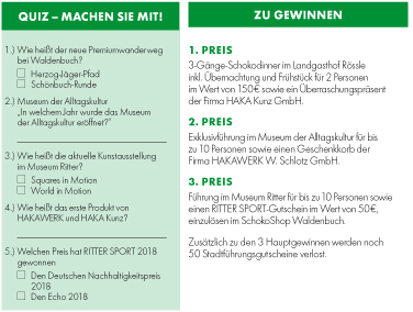 Quiz-Fragen © Landesmuseum Württemberg