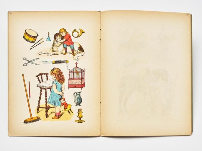 Spielzeug und Werkzeug für Mädchen und Jungen im 19. Jhd. © Landesmuseum Württemberg, Foto: Dirk Kittelberger, CC BY-SA