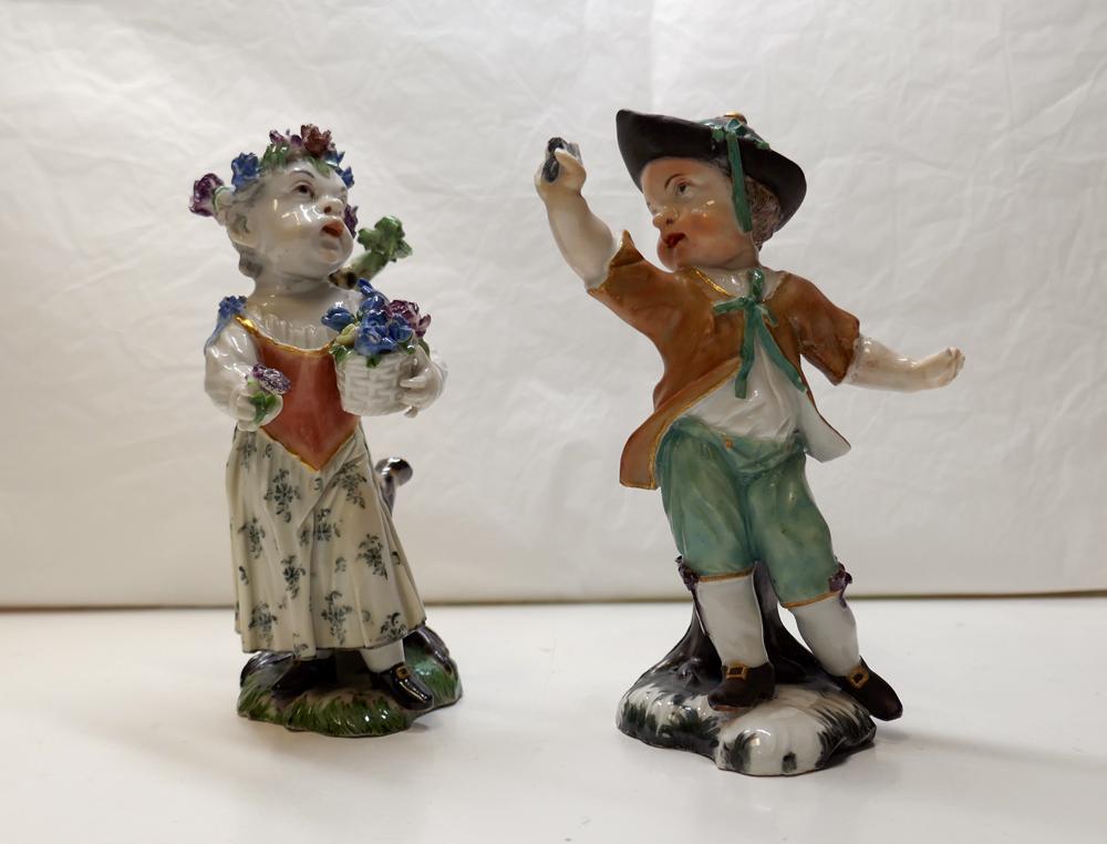 Die beiden zurückgekehrten Porzellankinder