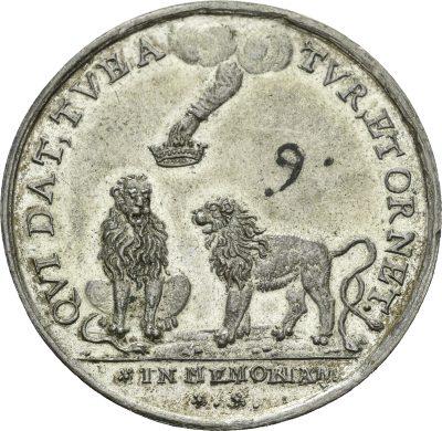 Der pfälzische und der böhmische Löwe bei der Krönung
