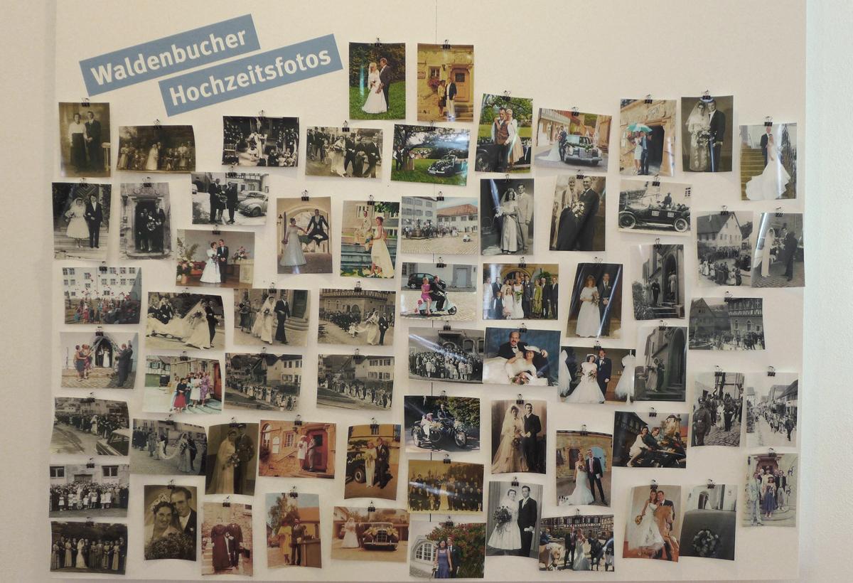Die Sammlung an Waldenbucher Hochzeitsfotografien